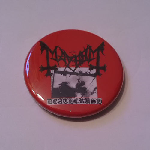 Mayhem - Deathcrush (Badge)
