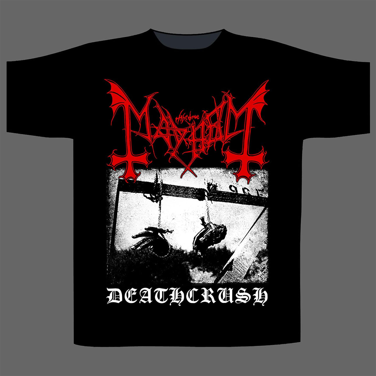 Mayhem - Deathcrush (Black) (T-Shirt)