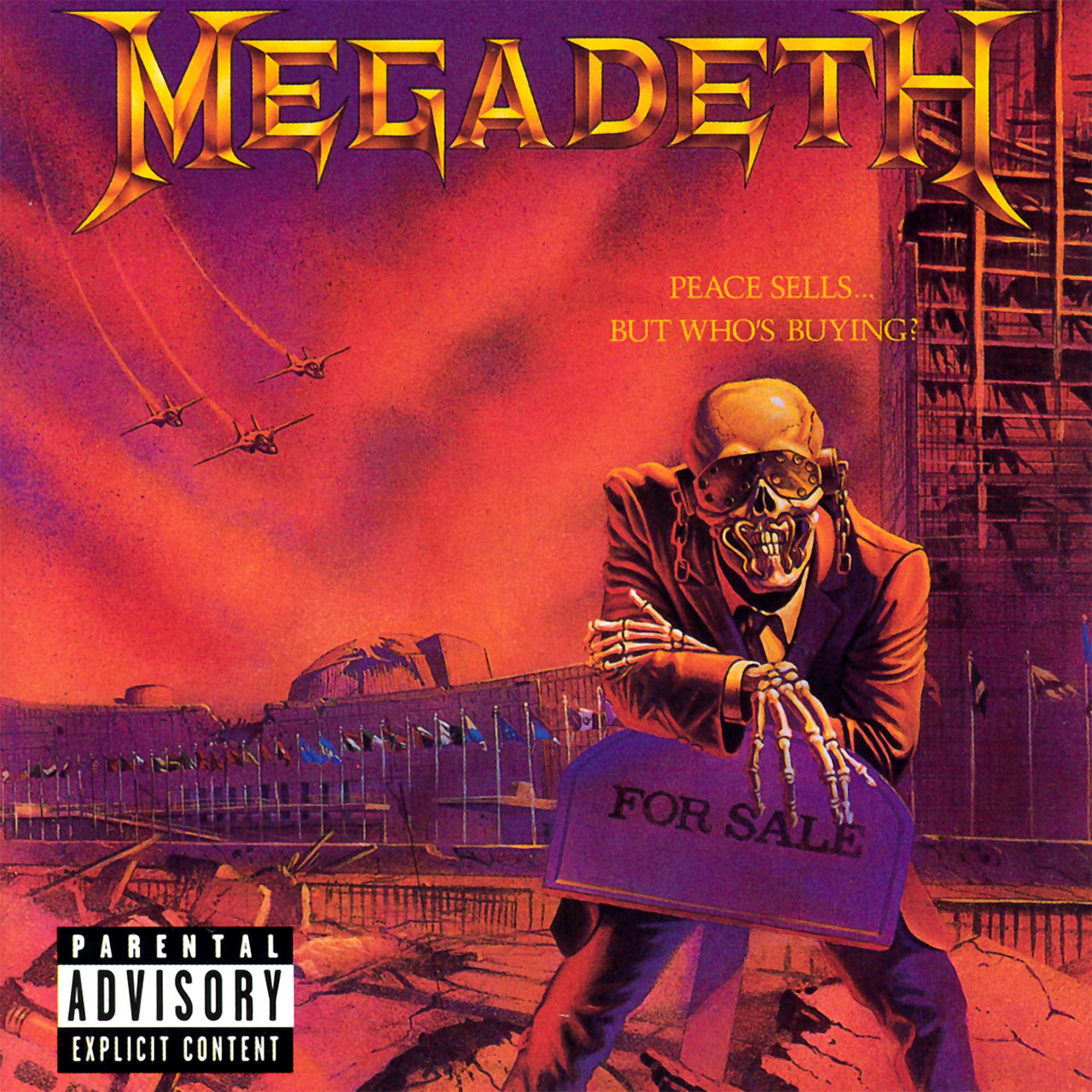 Megadeth - Peace Sells... But Who's Buying? (2004 Reissue) (CD)