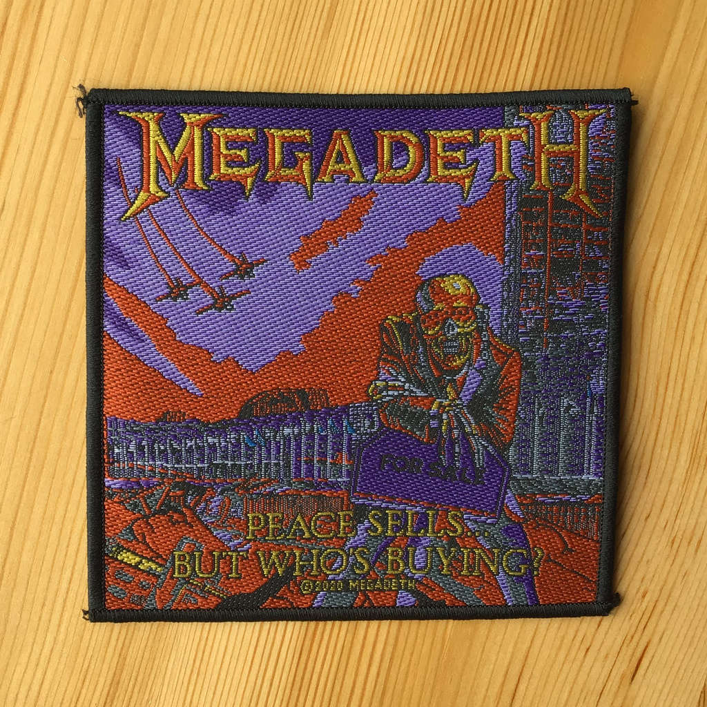 Megadeth - Peace Sells... but Who's Buying (Woven Patch)