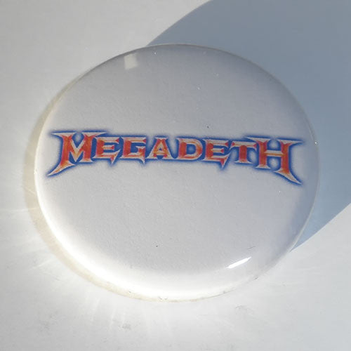 Megadeth - Red & Blue Logo (Badge)