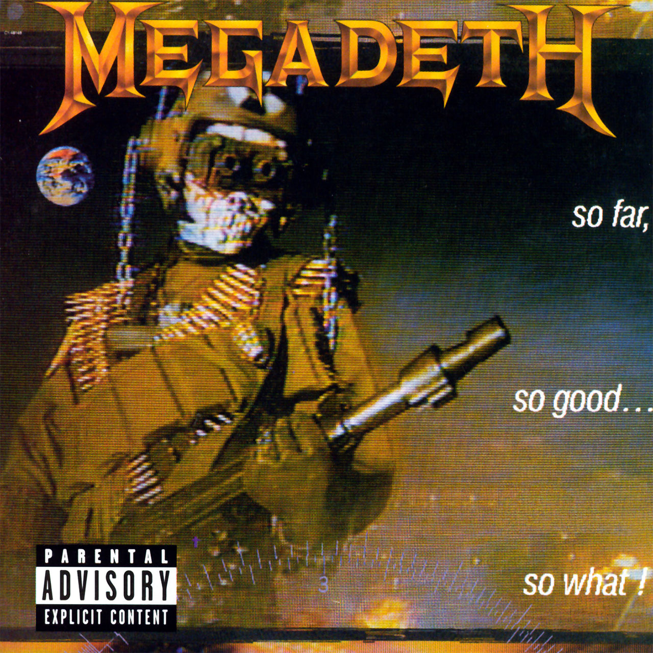 Megadeth - So Far, So Good... So What (2004 Reissue) (CD)