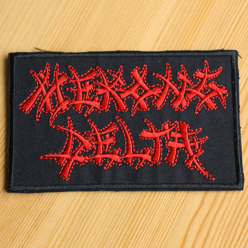 Mekong Delta - Red Logo (Embroidered Patch)
