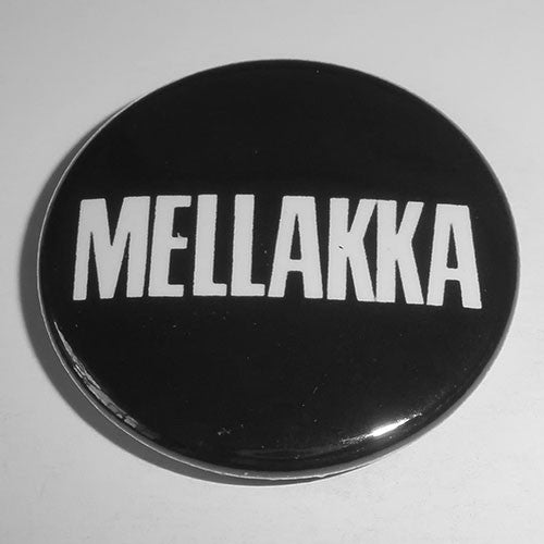 Mellakka - White Logo (Badge)