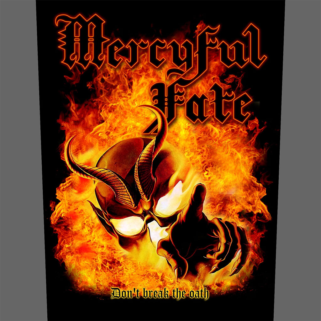 Mercyful Fate - Don't Break the Oath (Backpatch)