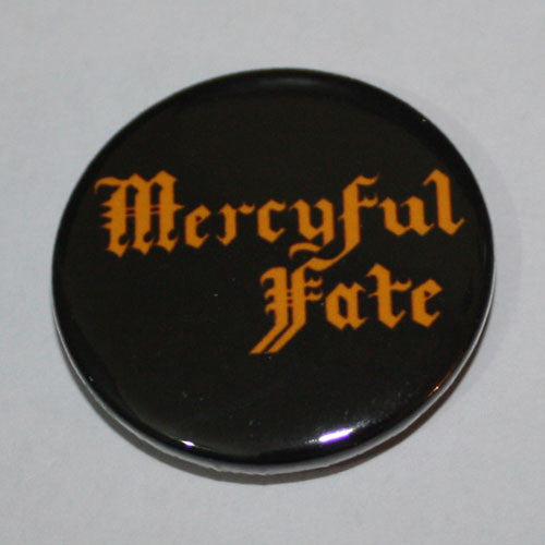 Mercyful Fate - Orange Logo (Badge)