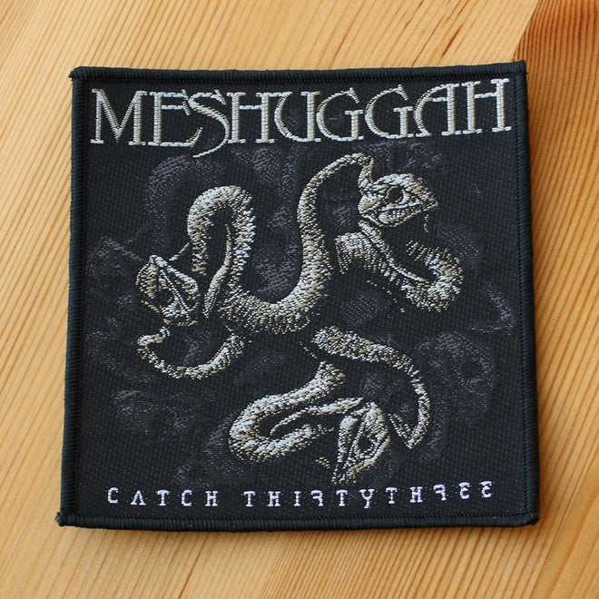 Meshuggah - Catch Thirtythree (Woven Patch)