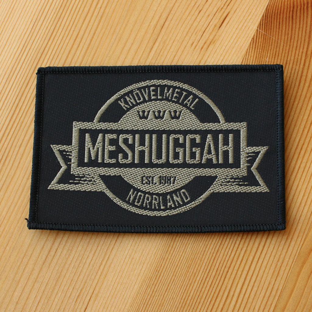 Meshuggah - Crest (Woven Patch)