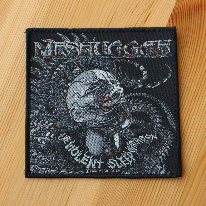 Meshuggah - The Violent Sleep of Reason (Head) (Woven Patch)
