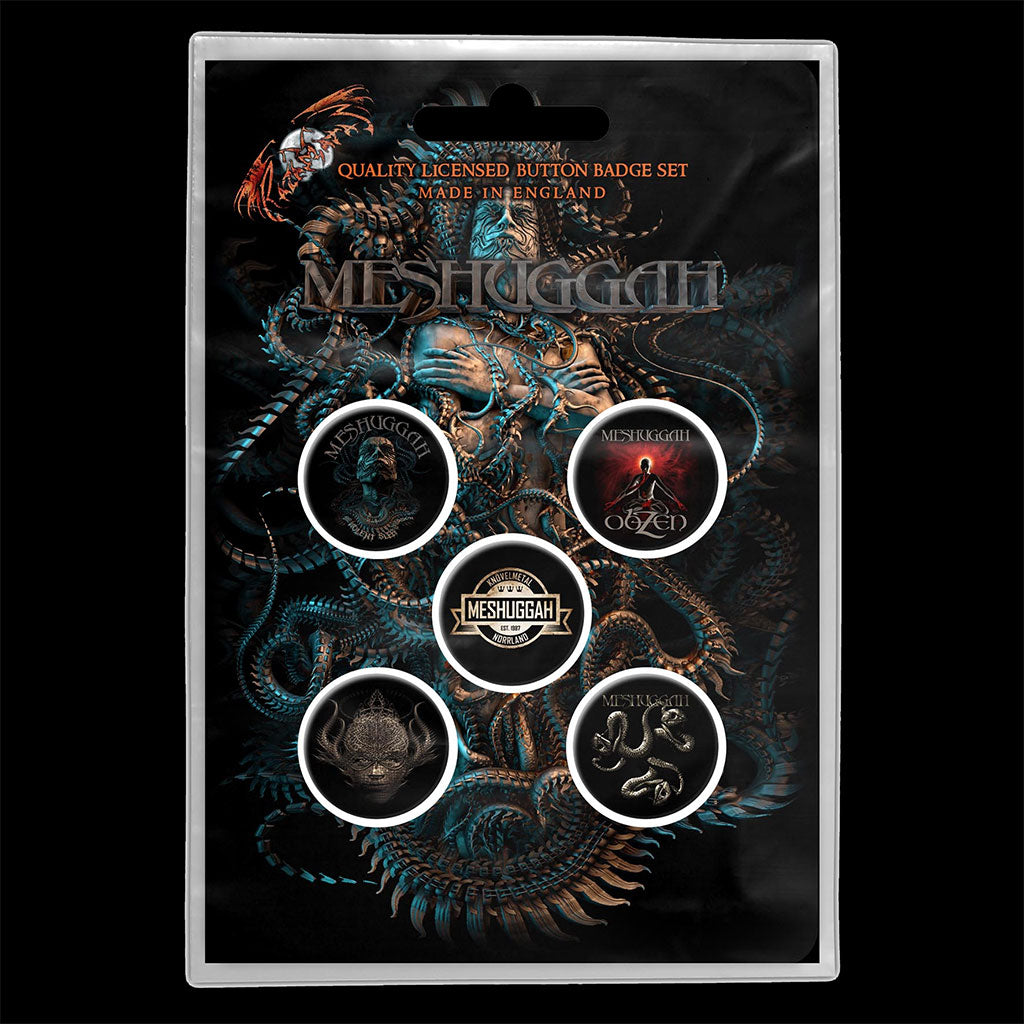 Meshuggah - The Violent Sleep of Reason (Badge Pack)