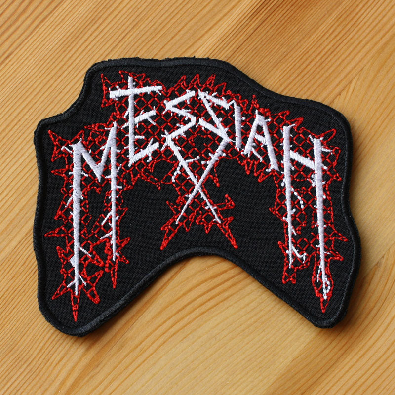 Messiah - Logo (Cut-out) (Embroidered Patch)