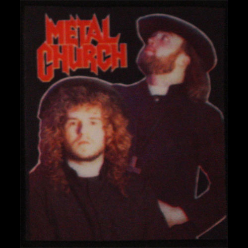 Metal Church - Band Photo (Printed Patch)