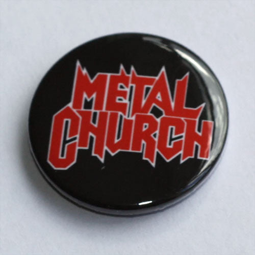 Metal Church - Red Logo (Badge)