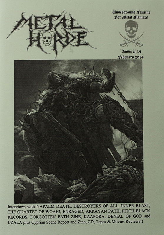 Metal Horde - Issue 14 (Zine)
