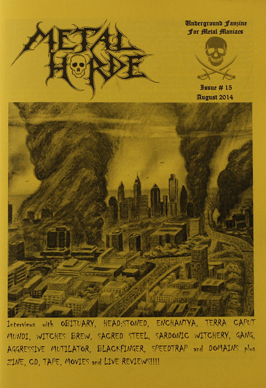 Metal Horde - Issue 15 (Zine)
