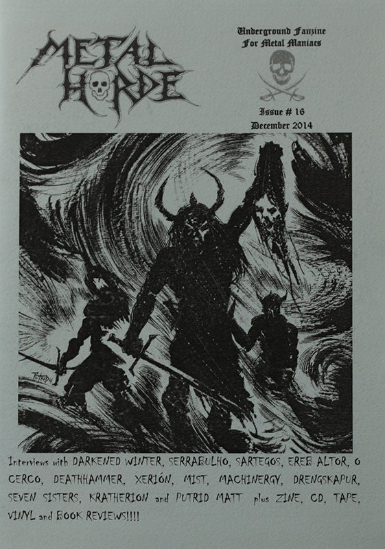 Metal Horde - Issue 16 (Zine)
