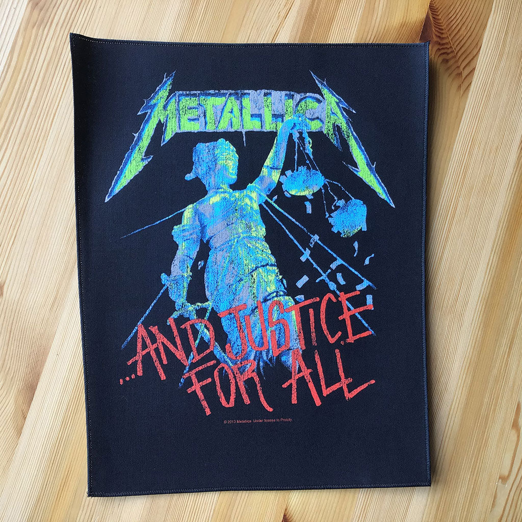 Metallica - ...And Justice for All (Backpatch)
