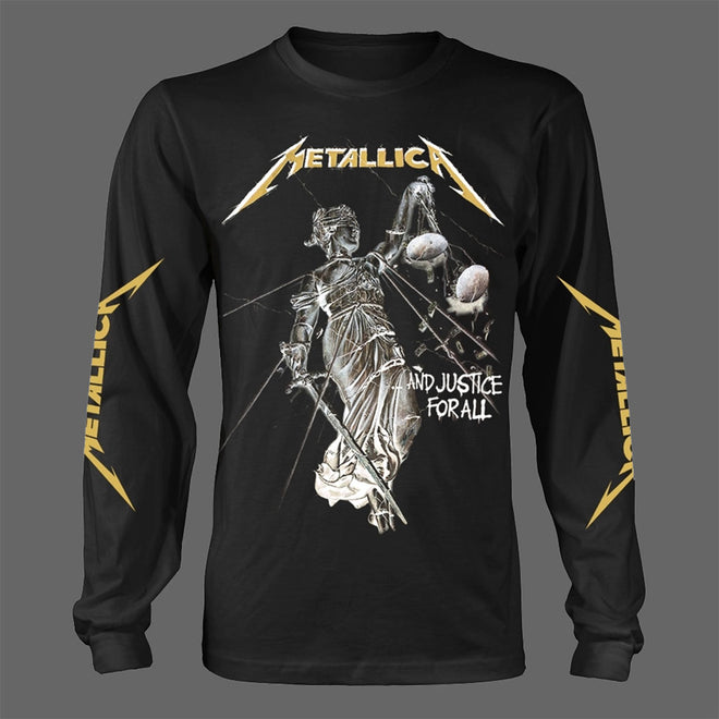 Metallica - ...And Justice for All (Long Sleeve T-Shirt)