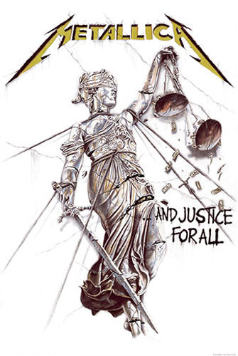 Metallica - ...And Justice for All (Textile Poster)