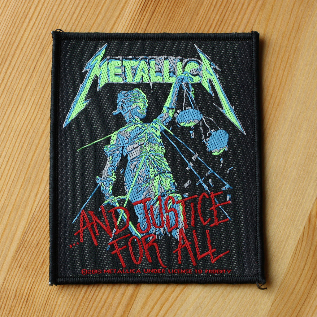 Metallica - ...and Justice for All (Woven Patch)
