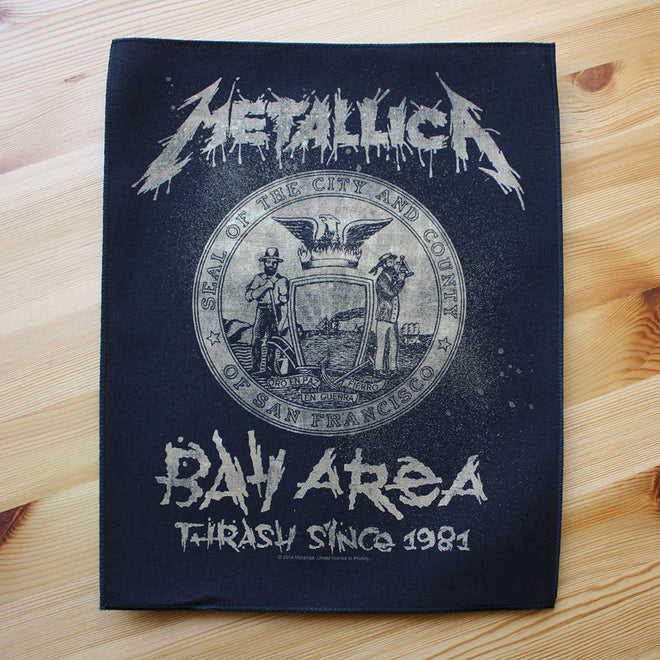Metallica - Bay Area Thrash Since 1981 (Backpatch)
