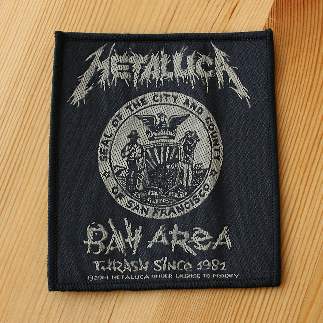 Metallica - Bay Area Thrash Since 1981 (Woven Patch)