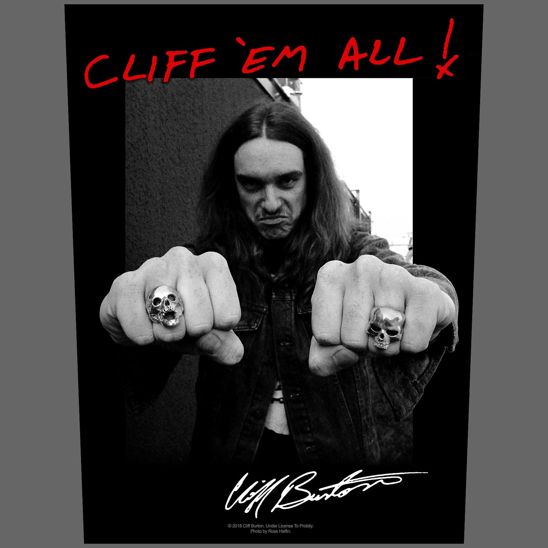 Metallica - Cliff 'Em All (Backpatch)