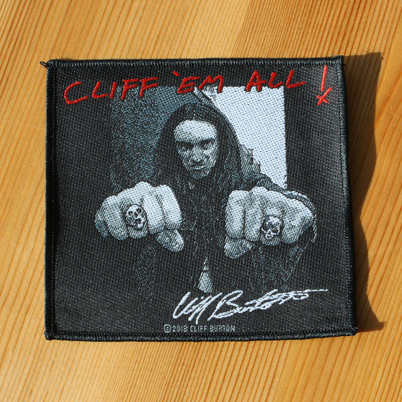 Metallica - Cliff 'em All (Woven Patch)