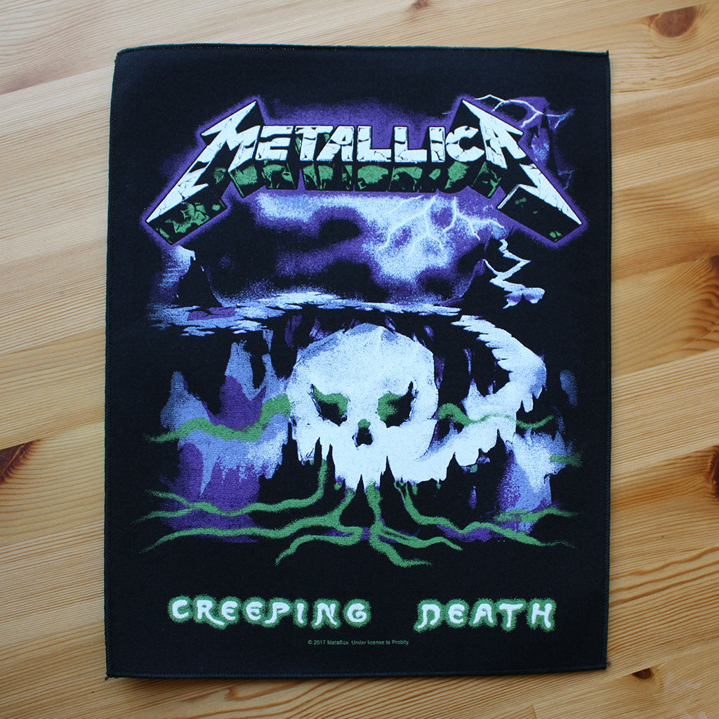 Metallica - Creeping Death (Backpatch)