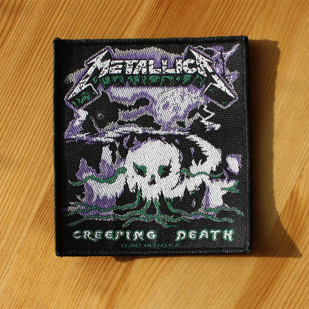 Metallica - Creeping Death (Woven Patch)