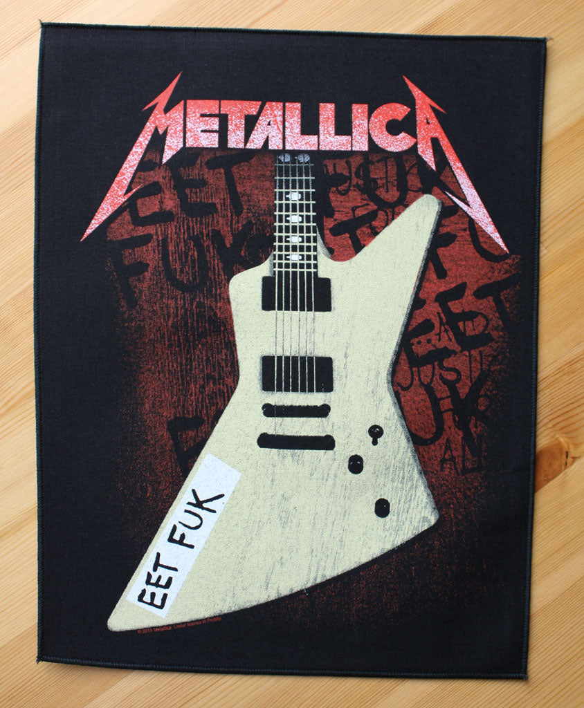 Metallica - Eet Fuk (Backpatch)