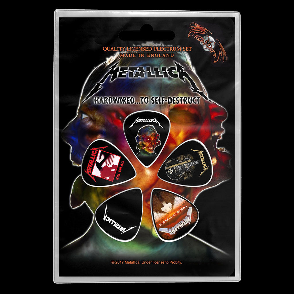 Metallica - Hardwired to Self-Destruct (Plectrum Pack)