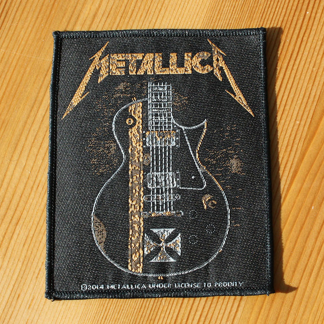 Metallica - Hetfield Guitar (Uncle Milty) (Woven Patch)