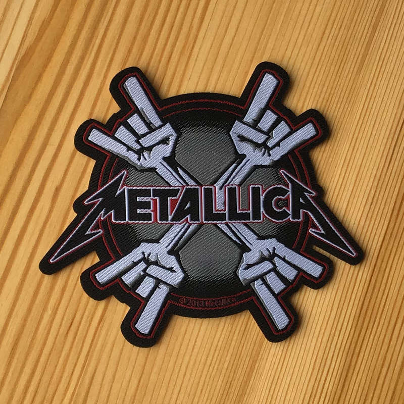 Metallica - Horn Hands (Woven Patch)
