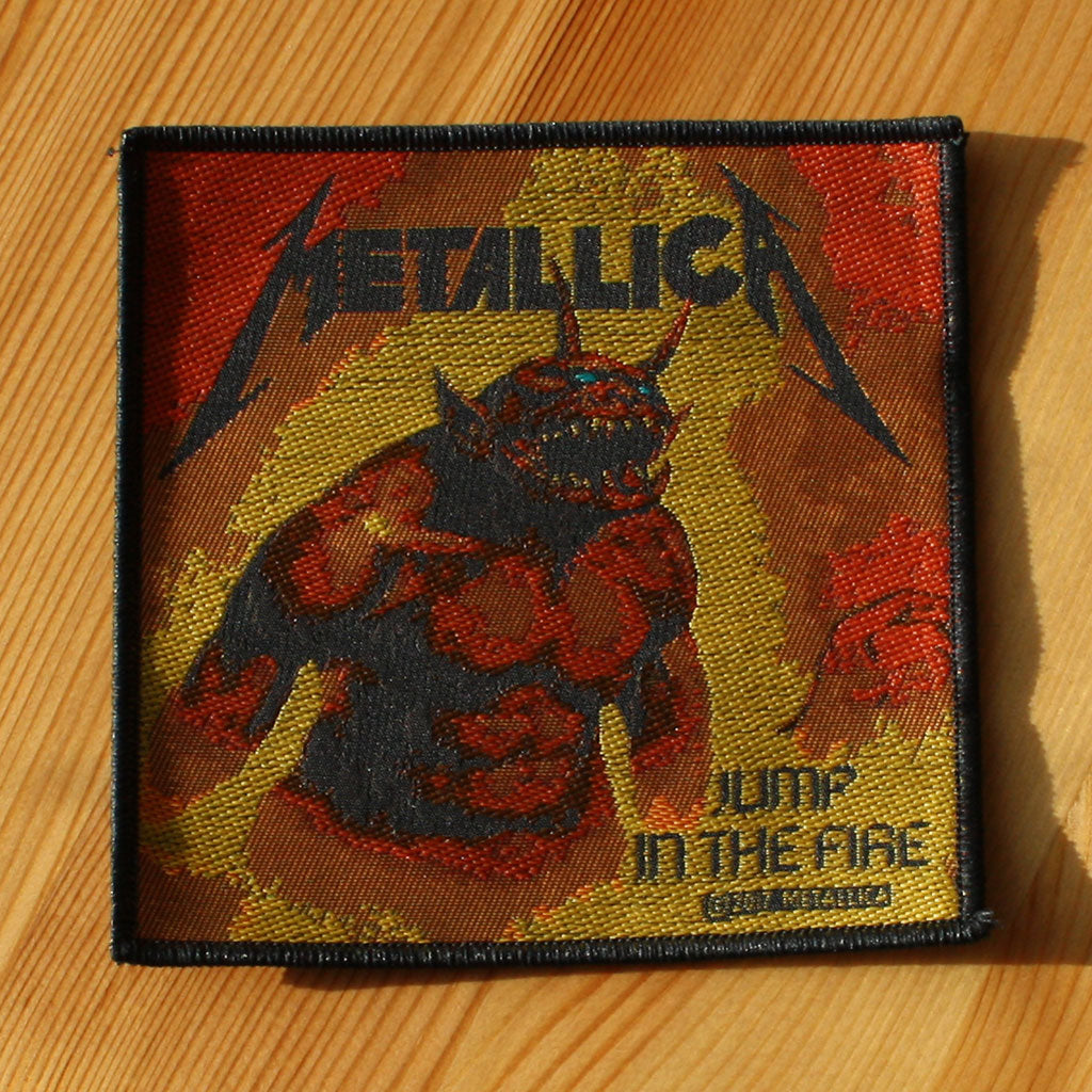 Metallica - Jump in the Fire (Woven Patch)