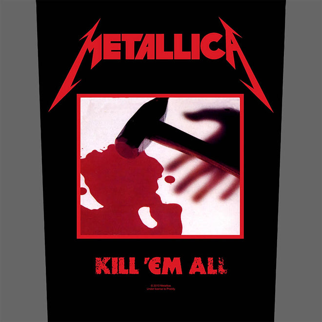 Metallica - Kill 'Em All (Backpatch)