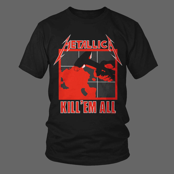 Metallica - Kill 'Em All / Electric Chair (T-Shirt)
