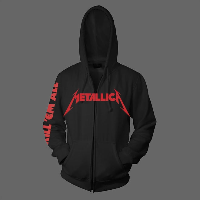 Metallica - Kill 'Em All (Full Zip Hoodie)