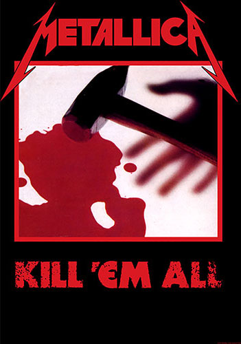 Metallica - Kill 'Em All (Textile Poster)