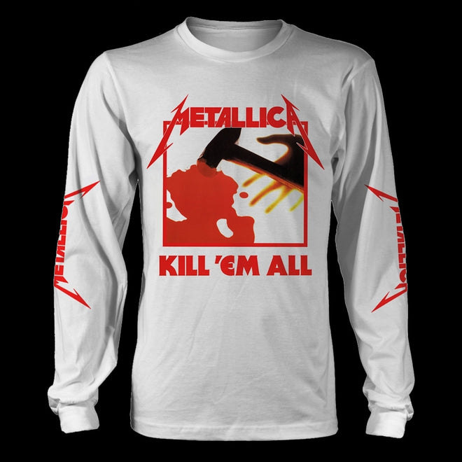 Metallica - Kill 'Em All (White) (Long Sleeve T-Shirt)