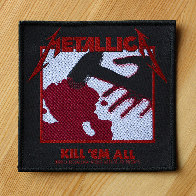 Metallica - Kill 'Em All (Woven Patch)