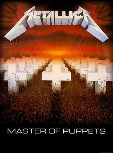 Metallica - Master of Puppets (Textile Poster)