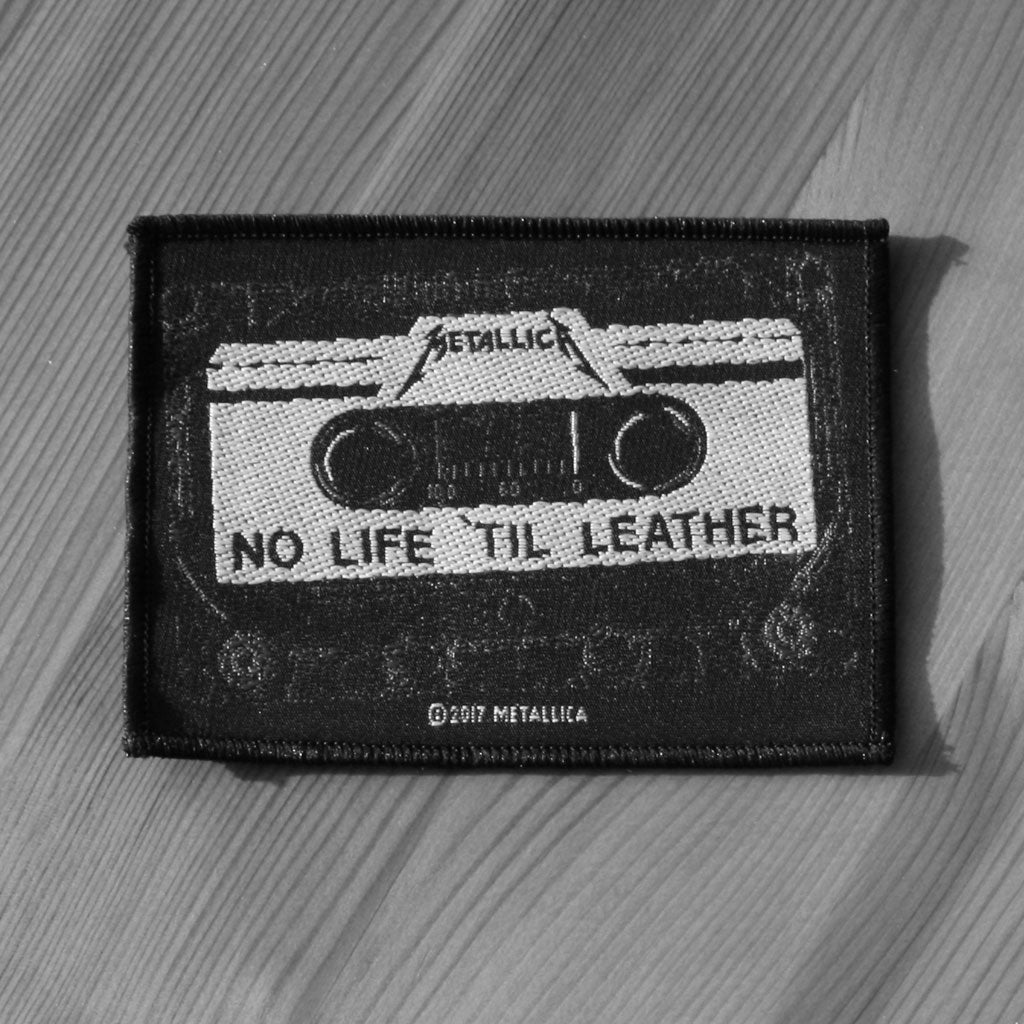 Metallica - No Life 'til Leather Cassette (Woven Patch)