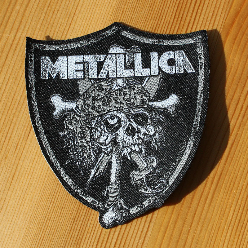 Metallica - Raiders Shield (Woven Patch)