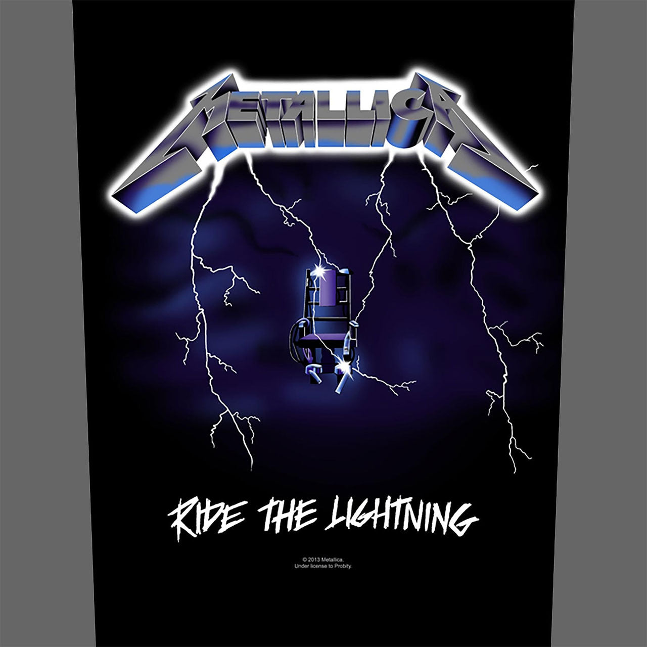 Metallica - Ride the Lightning (Backpatch)