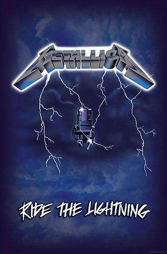 Metallica - Ride the Lightning (Textile Poster)