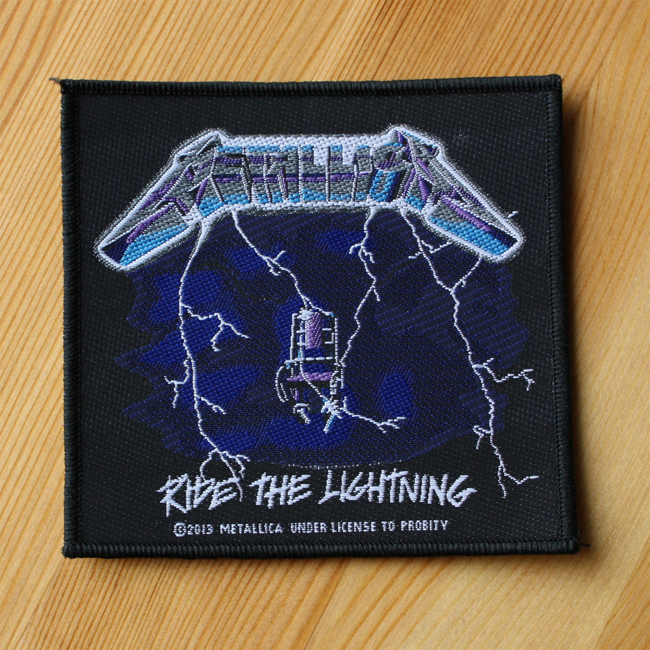 Metallica - Ride the Lightning (Woven Patch)