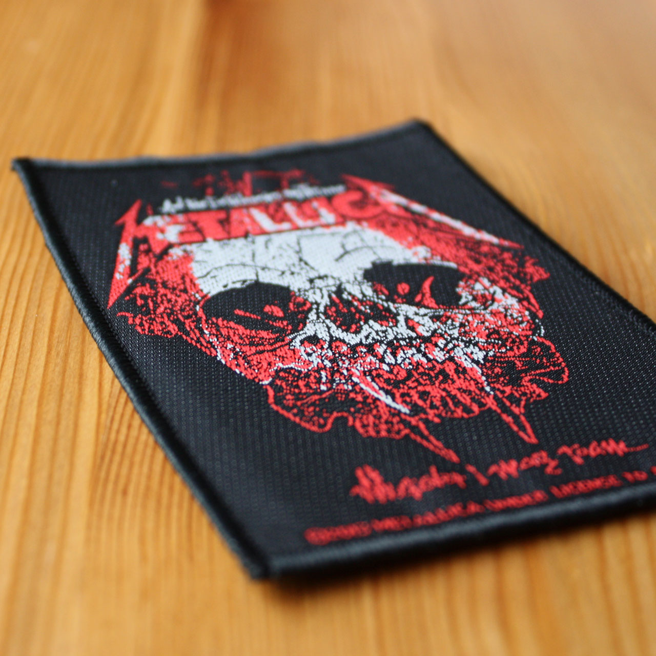 Metallica - Wherever I May Roam (Woven Patch)
