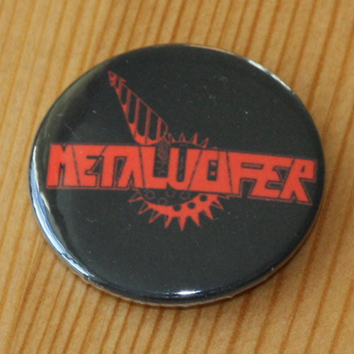 Metalucifer - Red Logo (Badge)