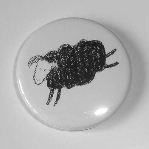 Minor Threat - Black Sheep (Out of Step) (Badge)
